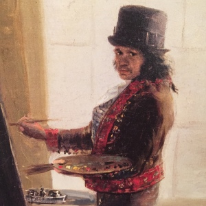 Francisco Goya, self portrait