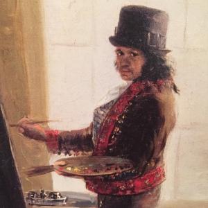 Francisco Goya, self portrait